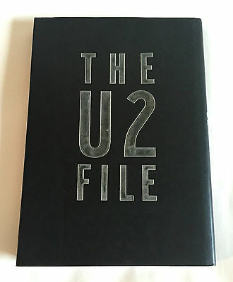 THE U2 FILE JAPAN PHOTO & TEXT BOOK 1992 hardcover