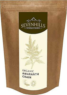 Sevenhills Wholefoods Organic Raw Amaranth Grain | Energy, Weight Loss