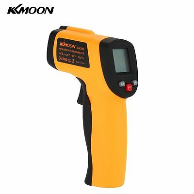 KKmoon Professional Grade Non-Contact LCD IR Infrared Digital Thermometer Laser