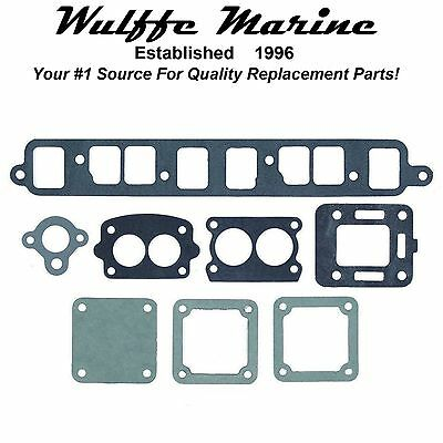 Exhaust Manifold Gasket Set for Mercruiser 140 Hp 3.0L '68-82 18-4398 27-53354A1