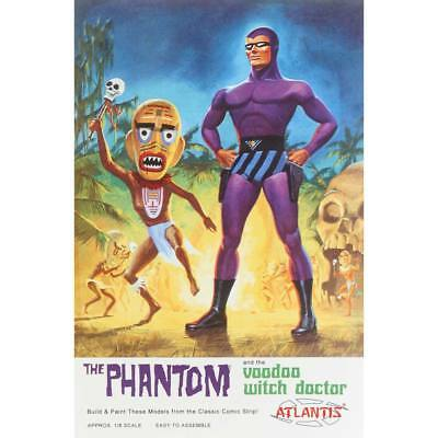 NEW Atlantis Models 1/8 Phantom and the Voodoo Witch Doctor AMC-3004