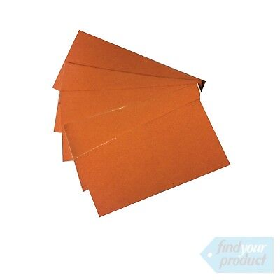 Suede Edge For Squeegee -5pack ( Vinyl, Decal, Sticker, Wrap, Sign Applicator)