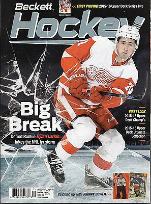 Beckett Hockey Price Guide May 2016  - Dylan Larkin Cover