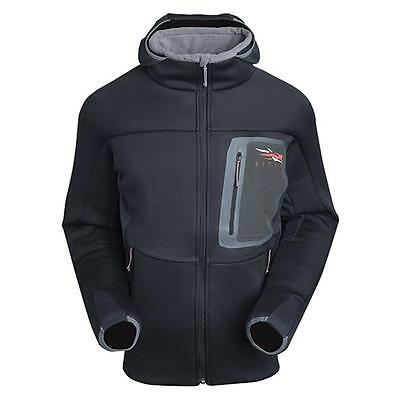 Sitka TRAVERSE Cold Weather Hoody ~ Black Large NEW ~ U.S FREE SHIPPING