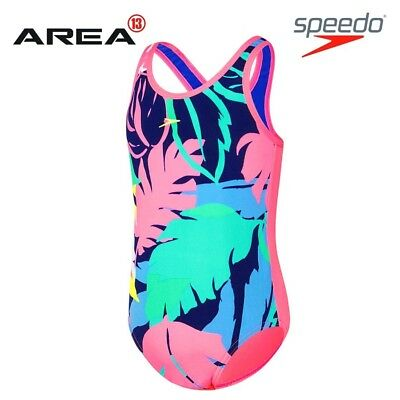 Speedo Toddler Tropical Girl One Piece  Swimwear, Children's Swimwear