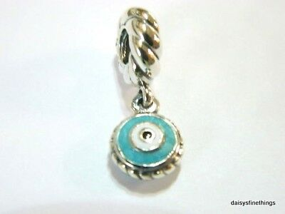New/tags  Authentic Pandora Silver Charm Watchful Eye Dangle #790529Eb Retired