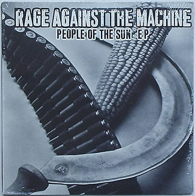 "Rage Against The Machine - People Of The Sun EP 10"" FIRST PRESS Audioslave RATM"