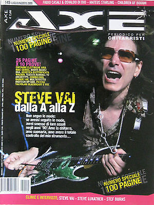 AXE 145 2009 Steve Vai Lukather Stef Burns Alexi Laiho Latvala Mateus Starling