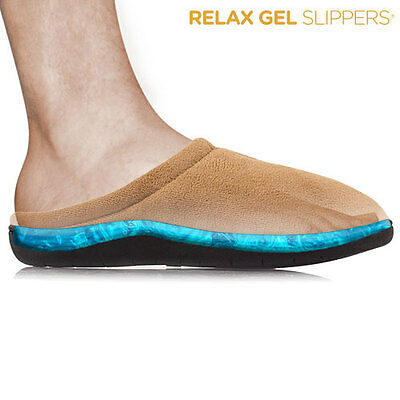 Pantofole Stepluxe Relax Gel Slippers - Colore Marrone Taglia S