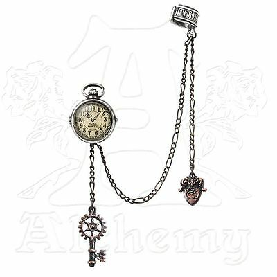 Alchemy Empire: Steampunk Uncle Albert's Timepiece Single Earring BRAND NEW
