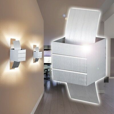 wandleuchte design led wohn zimmer lampen wandlampe flur leuchten wand strahler eur 49 99. Black Bedroom Furniture Sets. Home Design Ideas