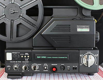 *** Projecteur  Super 8Mm Sonore - Chinon Sp-350 Twin Track - 180 Metres
