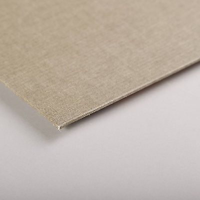 Clairefontaine Natural Canvas Boards. Artists Natural Primed Canvas Board.
