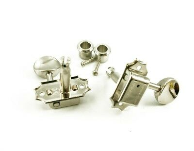 New Kluson 3X3 Nickel Tuners For Mosrite #sd9005Mn S Dr