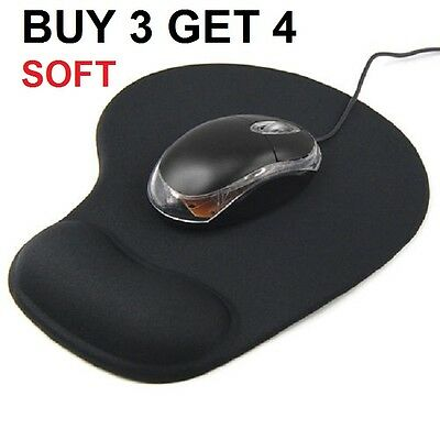 New Comfort Wrist Gel Rest Support Mat Mouse Mice Pad Computer PC Laptop Soft