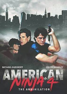 American Ninja 4 - The Annihilation New Region 1 Dvd