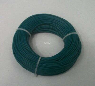 22 AWG tinned copper stranded hook up wire, 100 feet Green UL1007