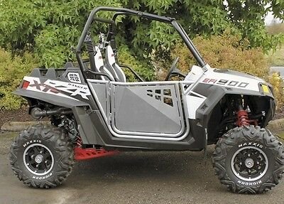 ModQuad Suicide Doors Aluminum Frame w/ Silver Panel for Polaris RZR 800 2014