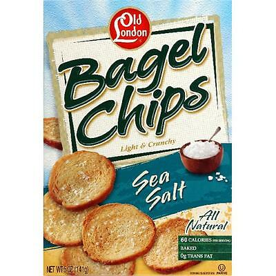 Bagel Chip Sea Salt -Pack of 12