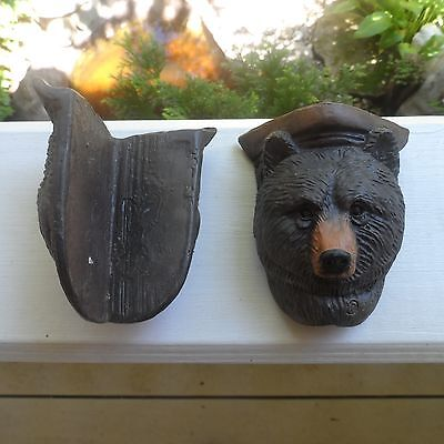 Furniture Corner Bears for Rustic, woodland or cabin decor!