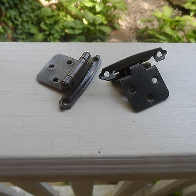 Self Closing Cabinet Hinges Lot of 10 (Dark Copper)