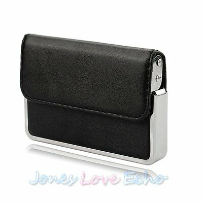 Premium Business ID Credit Card Wallet Holder Aluminum Metal Pocket Case Box