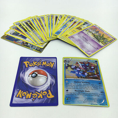 Pokemon TCG : 25 CARD LOT RARE, COM/UNC, HOLO & GUARANTEED EX OR FULL ART GAME
