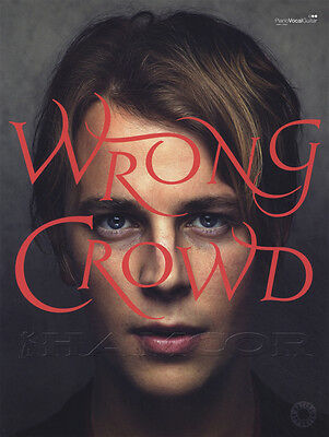 Tom Odell Wrong Crowd Piano Vocal Guitar Sheet Music Book PVG Jealousy Concrete