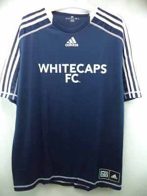 Vancouver Whitecaps FC Adidas MLS Official Team Climalite Jersey M