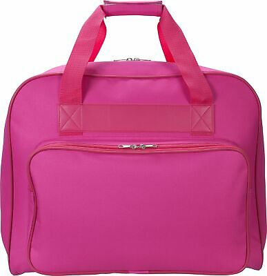 Heavy Duty Polyester Durable Spacious Sewing Machine Carry Bag - Pink :Argos