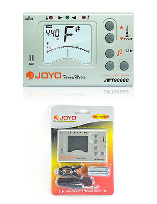 JOYO JMT-9000C Chromatic Tuner And Metronome - 3in1 for Wind Instruments
