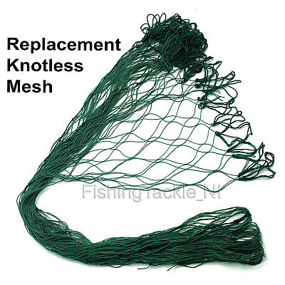 Replacement Knotless Meshes for Nets Trout Salmon etc Fishing All Sizes Shapes