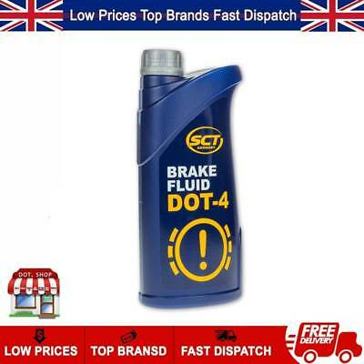 MANNOL DOT 4 Quality SYNTHETIC BRAKE & CLUTCH FLUID 1LITRE SCT GERMANY
