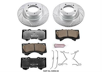 Power Stop 1-Click Z36 Extreme Truck and Tow Brake Kit K2952-36