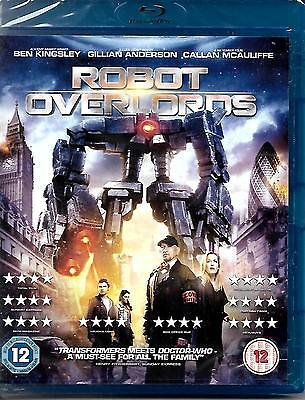 Robot Overlords [Blu-ray] NEW SEALED