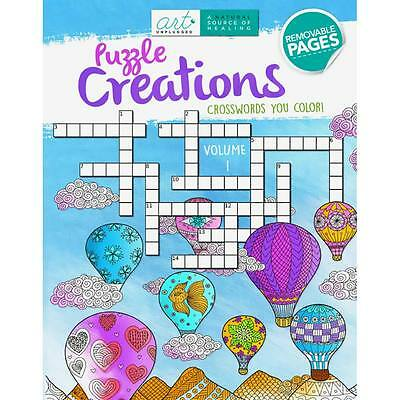 NEW Art Unplugged Puzzle Creations #1 Crosswords 194089915X