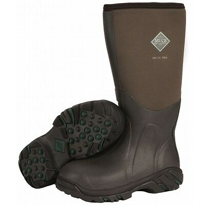 Muck Hunting Boot Arctic Pro Extreme Conditions ACP-998K BARK MEN'S SIZE 10