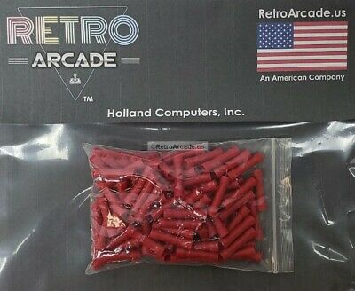 NEW 10-123 Electrical Butt Splice Red 22-18 AWG Terminals Blue 100-Pack