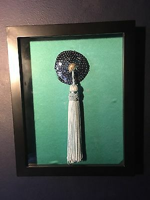 Authentic Costume Piece - Pastie -Worn By Burlesque Star Miss Dirty Martini
