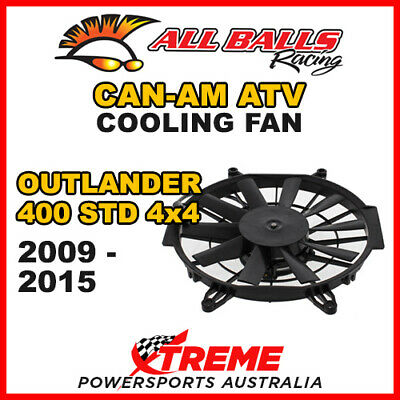 All Balls 70-1017 Atv Can-Am Outlander 400 Std 2009-2015 Cooling Fan Assembly