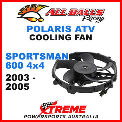 All Balls 70-1006 Atv Polaris Sportsman 600 4X4 2003-2005 Cooling Fan Assembly