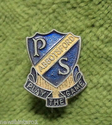 #d269.  Abbotsford  Public  School Lapel  Badge