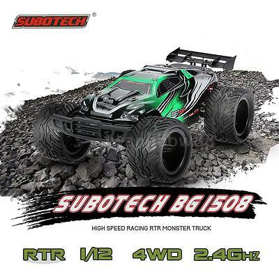 SUBOTECH BG1508 1/12 RC Car 2.4G 2CH 4WD Racing Monster Truck RTR Auto M7O9