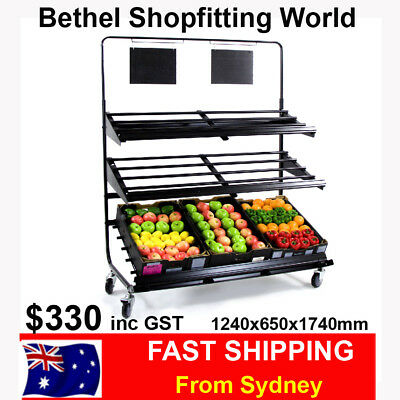 Fresh Produce Display Stand  Brand NEW!