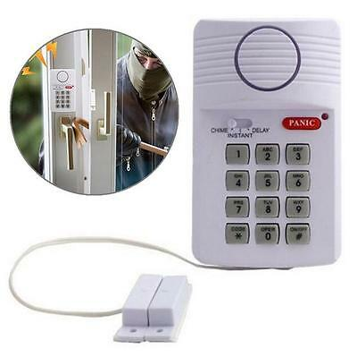 Security Panic Button Hot Home Keypad Alarm System Caravan Garage Door Ring