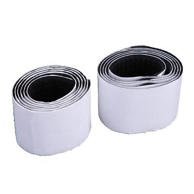 50mm Sticky Back Self Adhesive Hook and Loop Tape BLACK Sticky Strip Tape