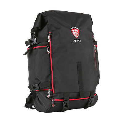 MSI Gaming Battlepack Backpack - Rucksack bis 17,3 Zoll leicht - robust