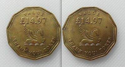 Collectable Readers Digest Token - 20th Century