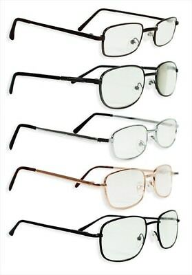 Reading Glasses Unisex Men's Ladies Trendy Designer 5 Different Colours