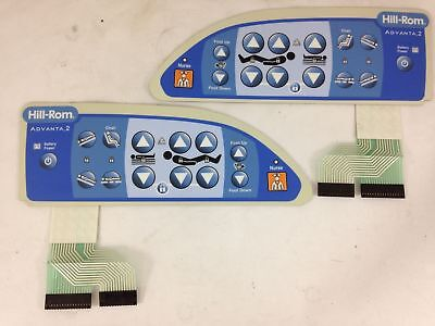 Side Membrane Switches for the Advanta 2 Med Surg Bed